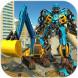 挖掘机变形机器人