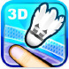 3D 羽毛球